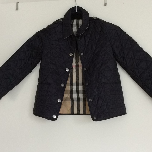 Burberry Quilted Jacket Kids